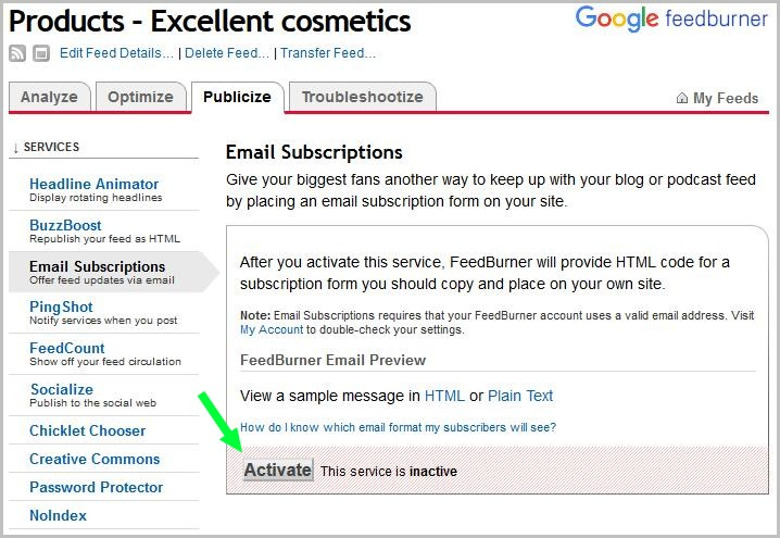 How to activate email subscriptions for new products in Woocommerce.
