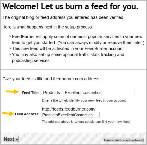 How to make notifications to email for new products on Woocommerce with help of Google Feedburner for free.